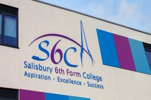 Salisbury Sixth Form College - Apple Orchard Construction Project - Exterior (2)