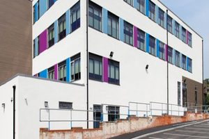 Salisbury Sixth Form College - Apple Orchard Construction Project - Exterior Facade