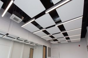 Salisbury Sixth Form College - Apple Orchard Construction Project - Interior Classroom