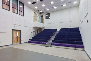 Salisbury Sixth Form College - Apple Orchard Construction Project - Interior Lecture Theatre