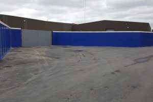 Carriaglea Industrial Estate Site Setup and Hoarding (3)