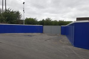 Carriaglea Industrial Estate Site Setup and Hoarding (4)