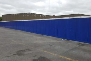 Carriaglea Industrial Estate Site Setup and Hoarding (5)