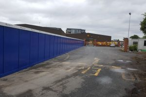 Carriaglea Industrial Estate Site Setup and Hoarding (6)