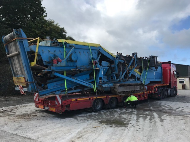 Fintec 540 3 Way Split Screener Sold to Slovakia