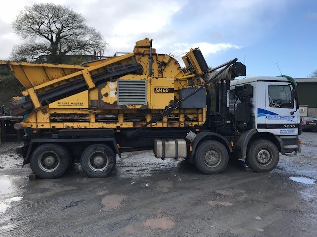 RM60 Impact Crusher Sold to Asbestos Waste Disposal LTD