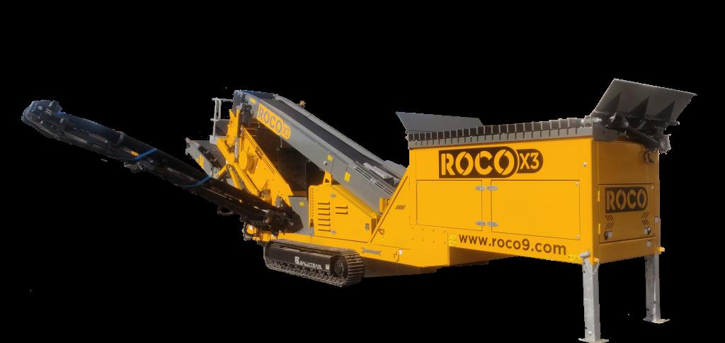 ROCO X3 Finishing Screen