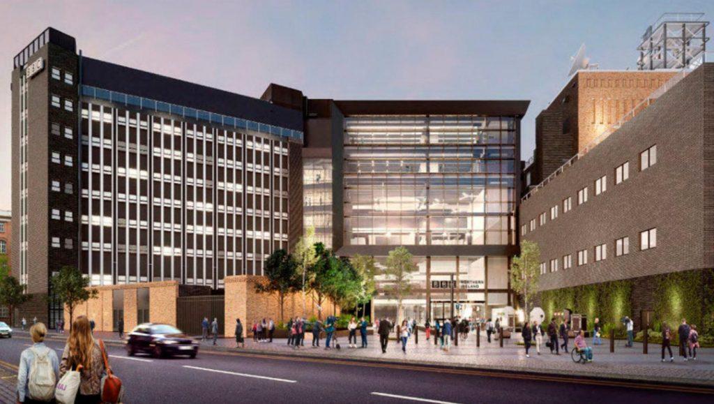 Proposed new BBC NI Broadcasting House Belfast