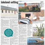 Page two of the review of Caitlin's Cottage, self catering accommodation in South Armahg