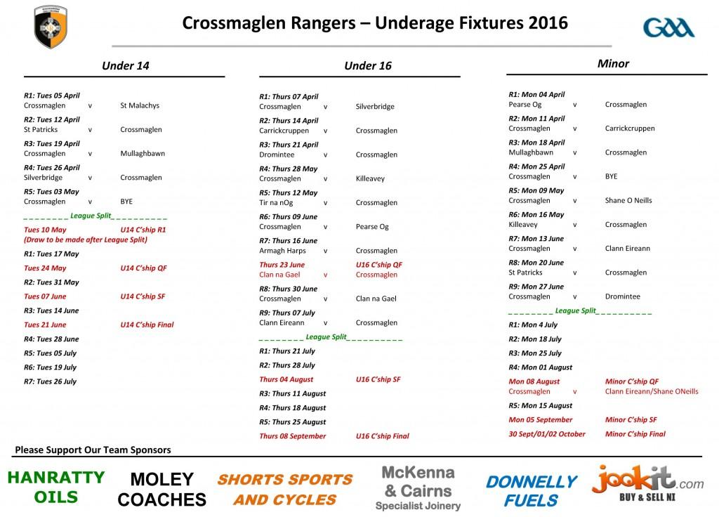Underage Fixtures