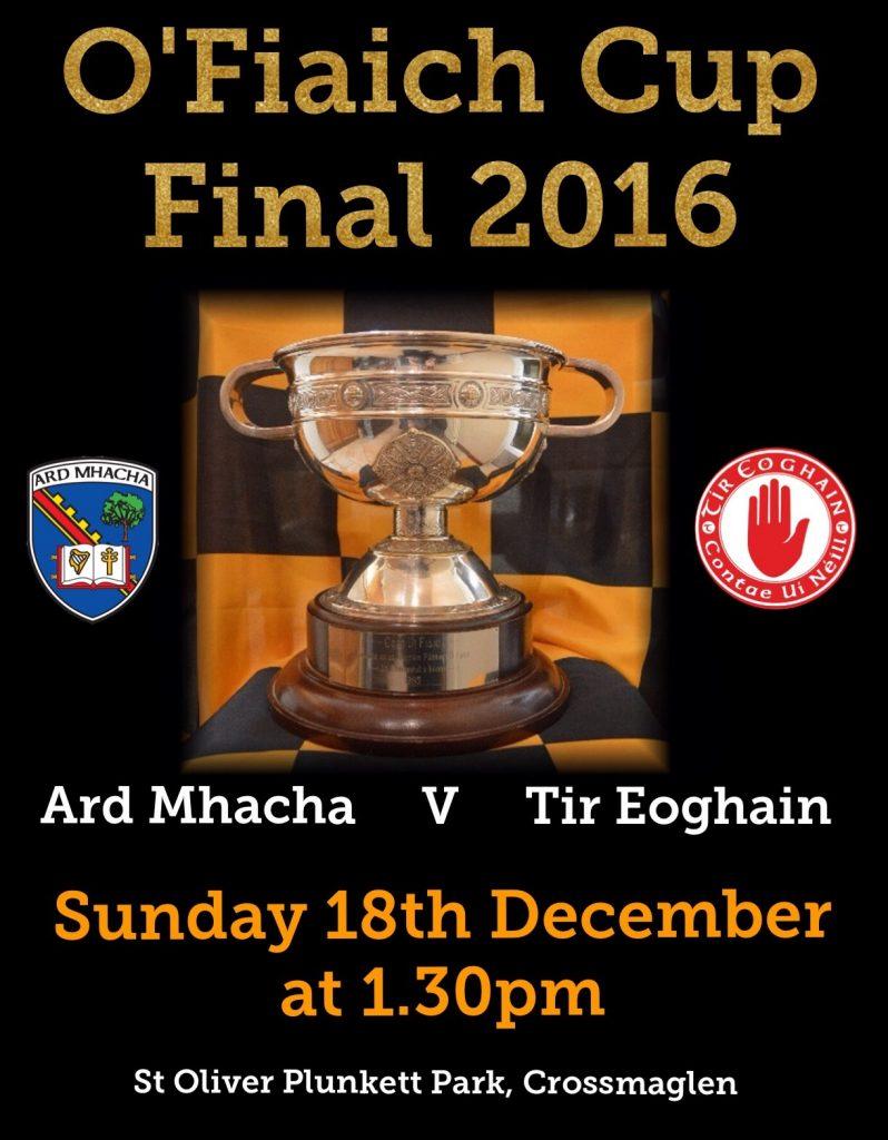O'Fiaich Cup Final 2016