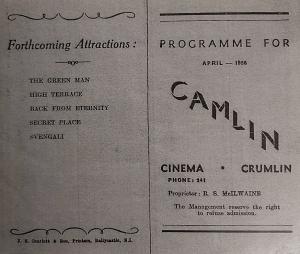 Camlin programme, April 1958.