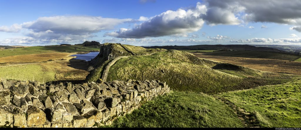 Hadrian S Wall Way Mountain Ways Ireland