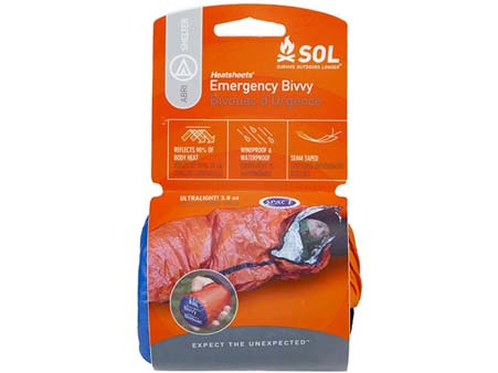 sol orange emergency bivvy package -Mountain Ways Ireland - What's in my rucksack?