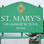 St Mary's Front Sign
