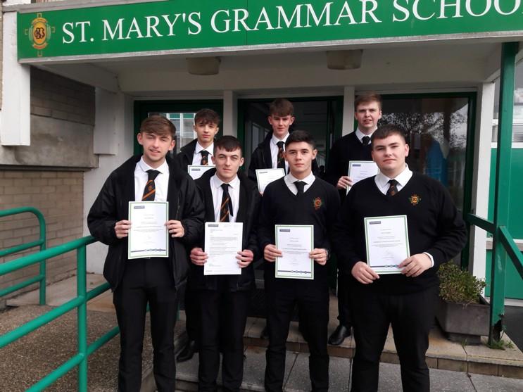 Financial award winners