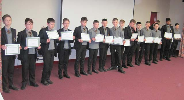 Year 9 award winners