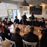 Business Studies pupils on trip to local business