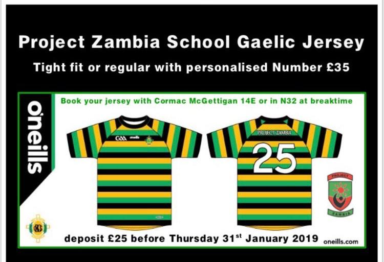 Project Zambia fundraising leaflet