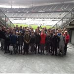 French language pupils at Stade de France