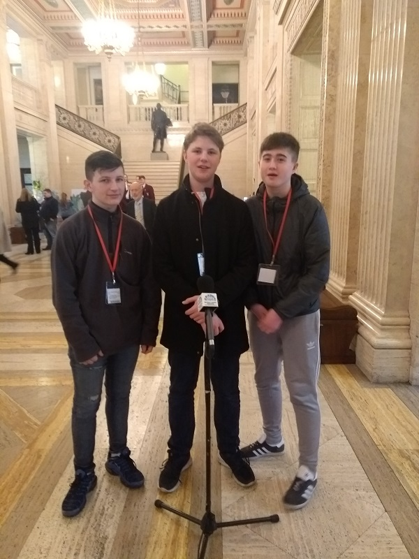 The pupils at Stormont