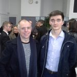 Student with parent at A2 Prizegiving 2016