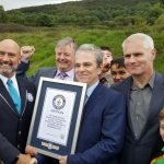 Mr Martin receives the Guinness World Record