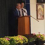 Mr Martin's speech