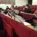 Pupils attending Amazing Brains session
