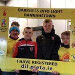 Darkness Into Light walkers registering