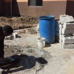 Building project at the school