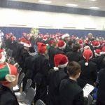 School choir performing
