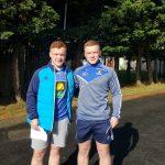 CJ and Odhran McKenna celebrate successful A-Level results