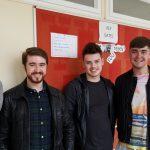 Matthew Kane, Adam Guilar, James Maguire and Darren Quinn