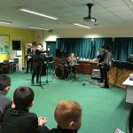 Musicians perform at Open Night