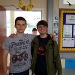 Patrick O'Halloran and Rory Rushe