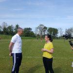 Post-match interview