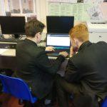 Pupils coding