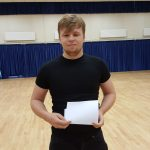 Stephen Cullen with a successful set of A-Level results