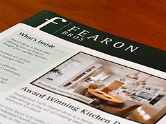 Fearon Bros A4 Brochures