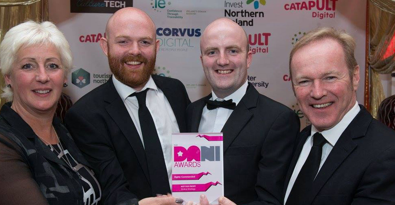 Wibble Win a DANI Award for 'Not for Profit'