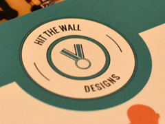 Hit the Wall Designs Branding and Print