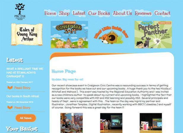Irish Kids Books Portfolio