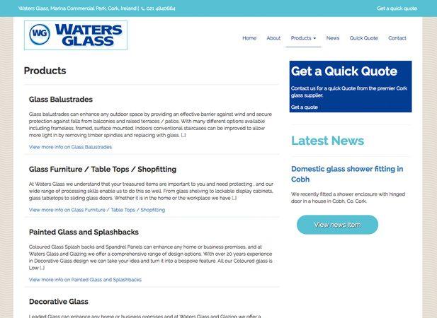 Waters Glass Portfolio