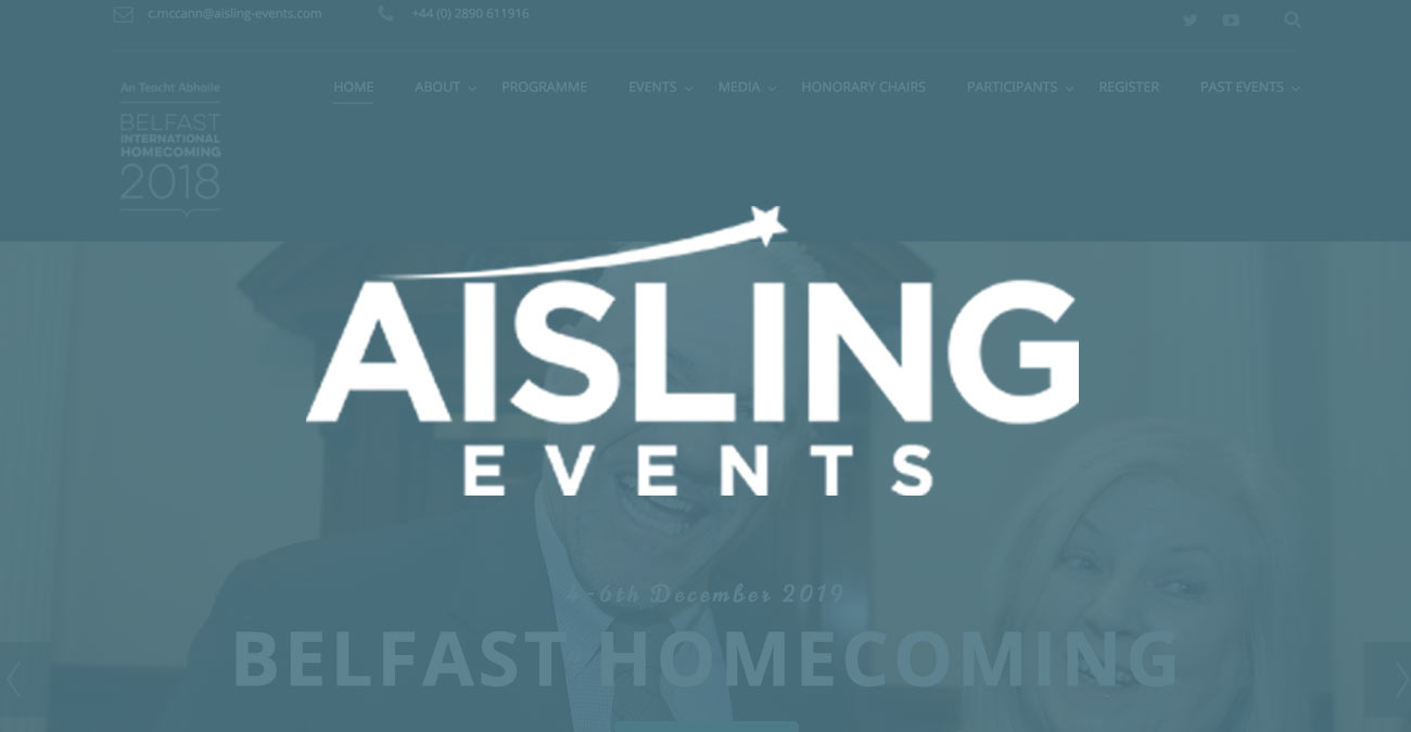 Case Study: Specialist WordPress support & management for Aisling Events