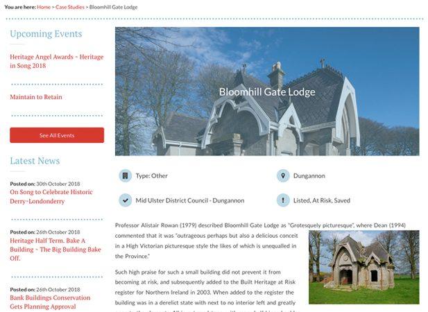 Web design portfolio of Wibble's for UAH