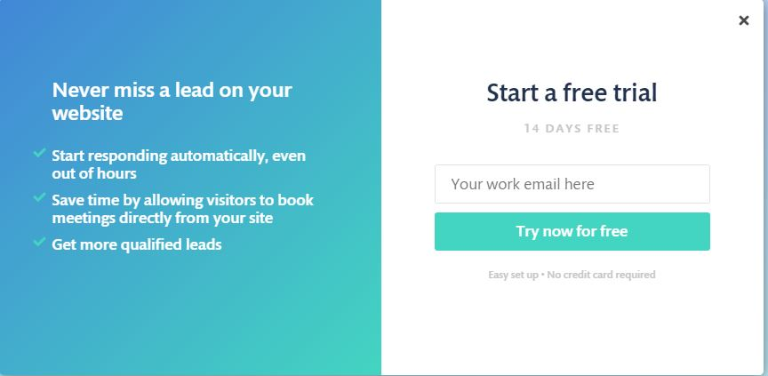 Blog: Continually Sign Up Trial