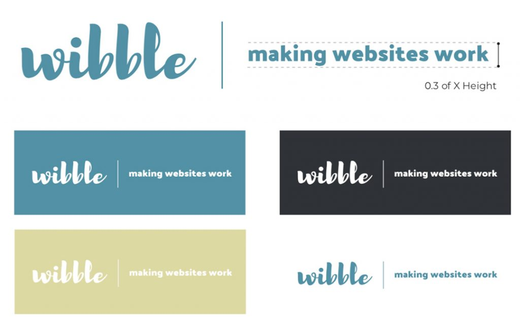 We Are Wibble Blog - Brand Refresh Part 1 - logo plus tagline