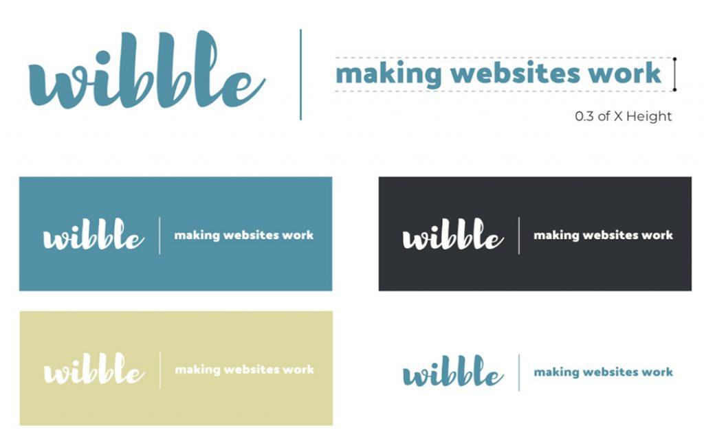 We Are Wibble Blog - Brand Refresh Part 1 - logo plus tagline