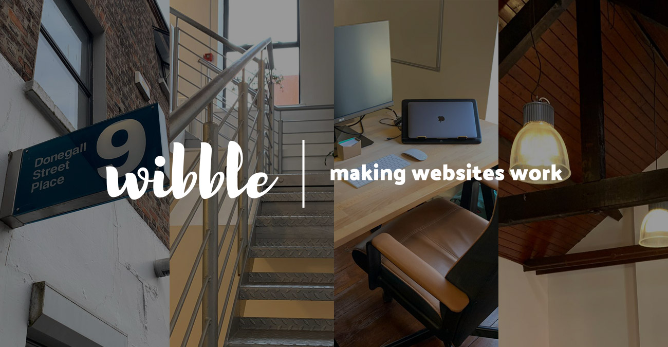 Wibble Blog - New office move